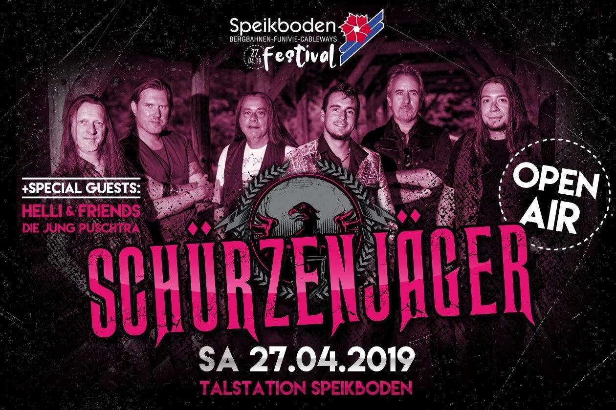 Schürzenjäger live – Speikboden