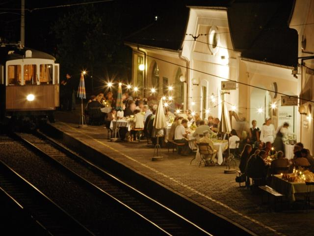 Culinary trip with the Ritten railway