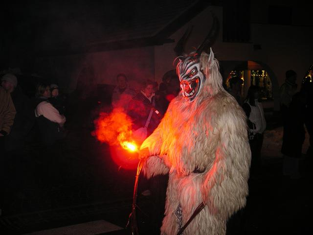 Krampus run in Bruneck